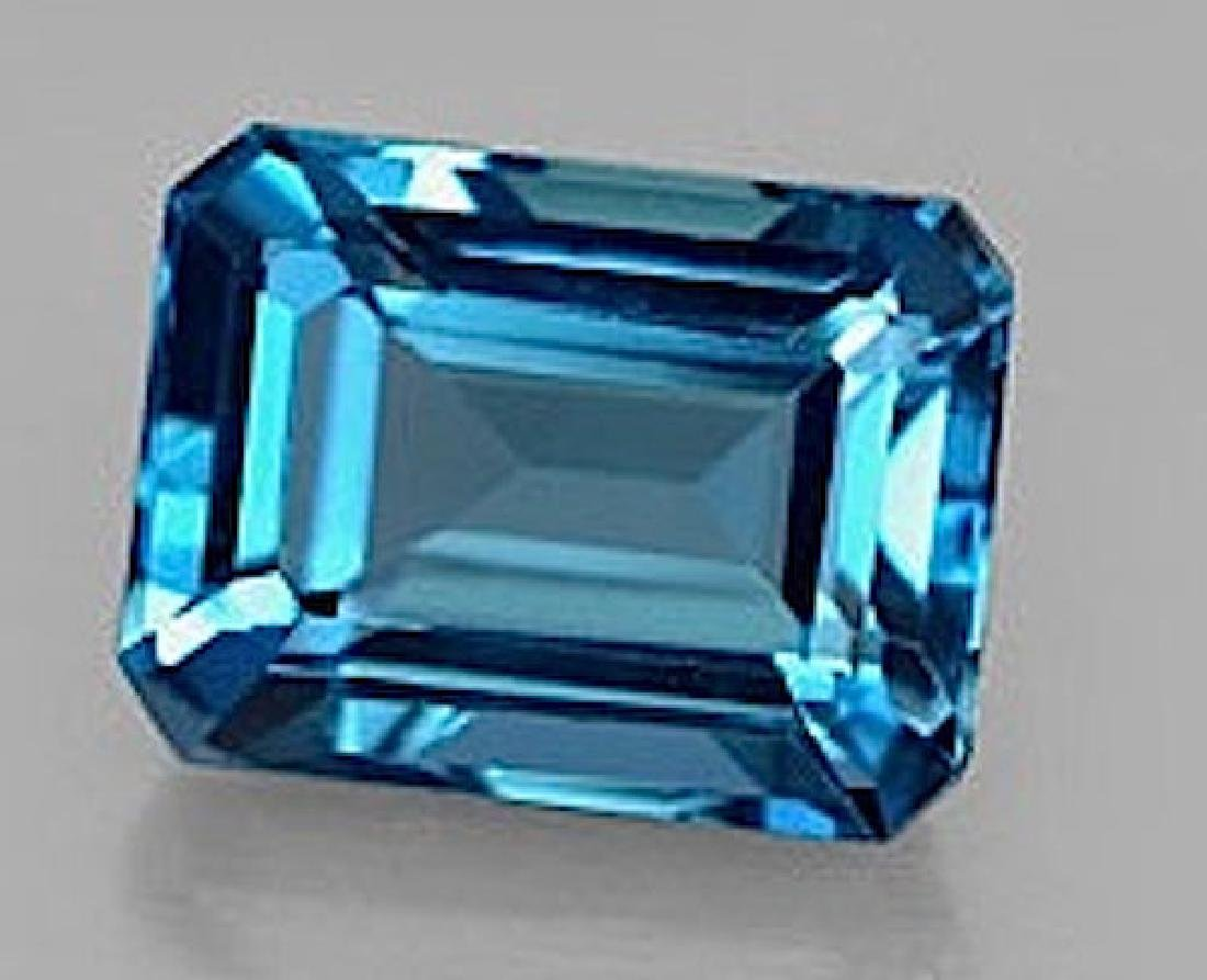 Natural London Blue Topaz 17.02 carats