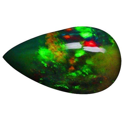 Natural Full Fire Ethopian Black 3.97 Cts Opal