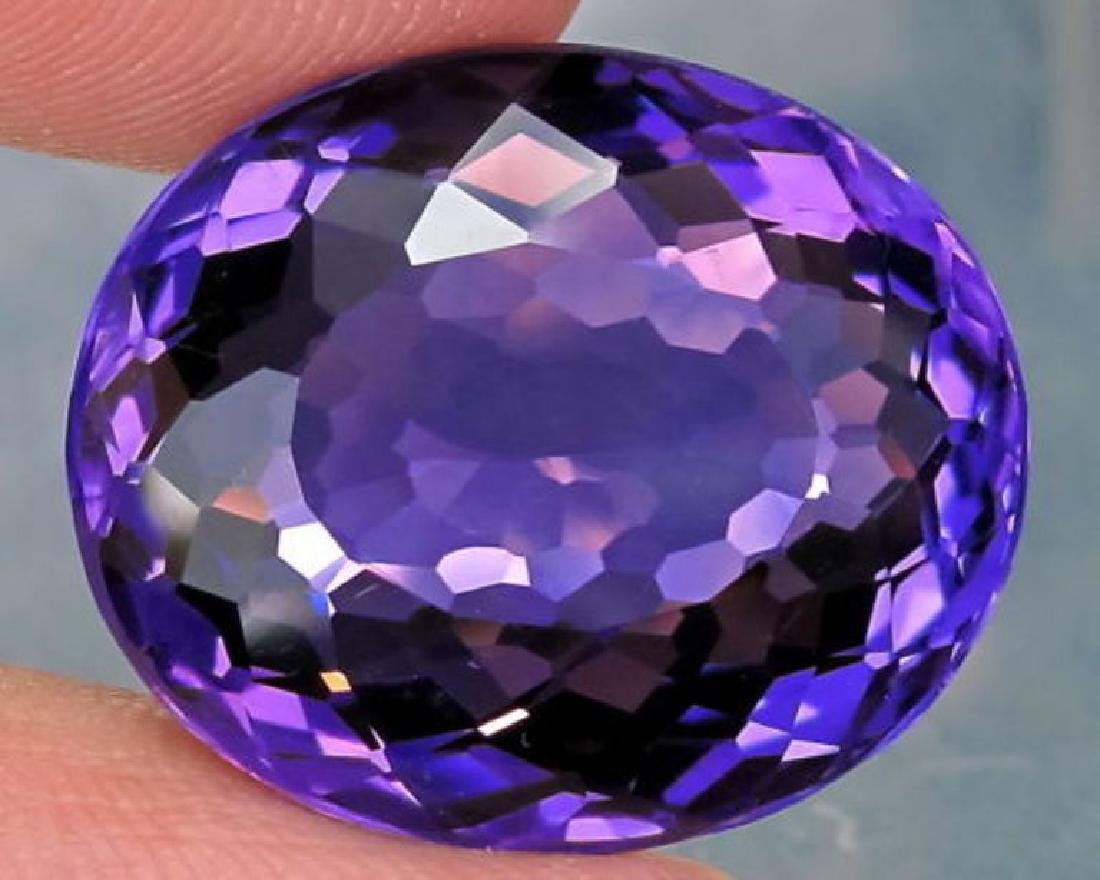 Natural Amethyst 18.01 carats - AAA