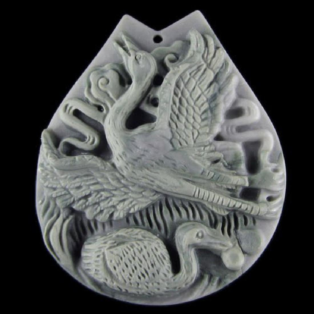 Hand Carved Pendant