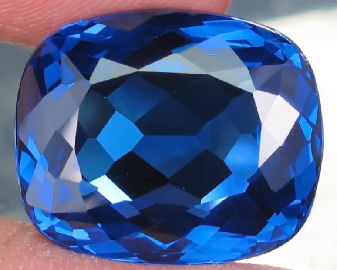 Natural London Blue Topaz 30.69 carats- VVS