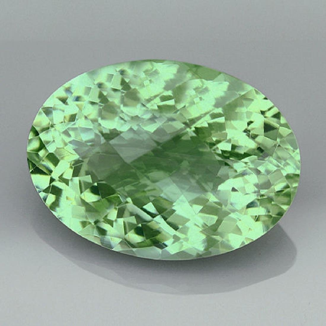 Natural Healing Green Color Amethyst 16.20 Cts - VVS