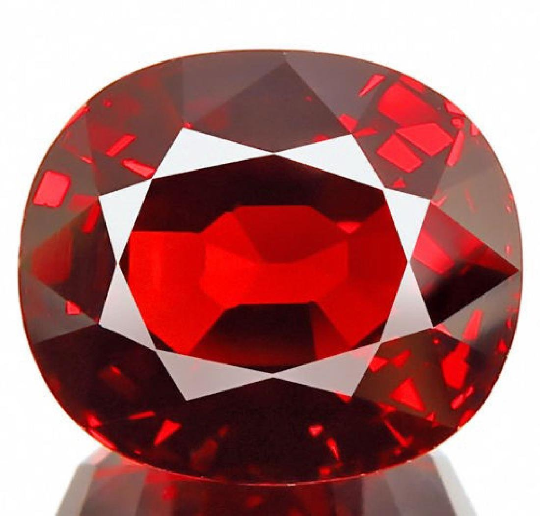 Natural Spessartite Red Garnet 4.78 Cts - Flawless