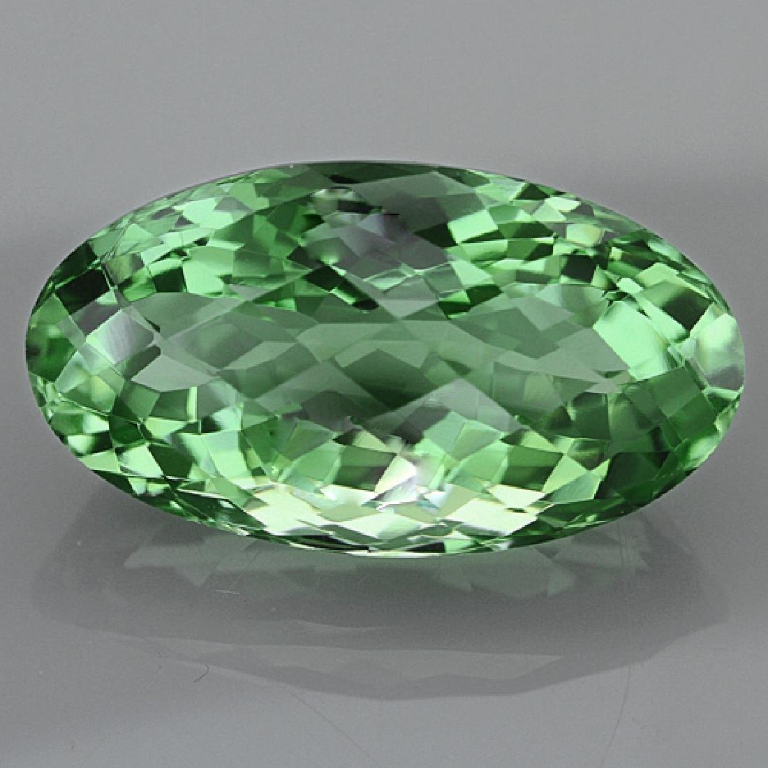 Natural Healing Green Color Amethyst 28.90 Cts - VVS