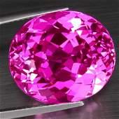 Natural hot Pink Topaz 3206 carats  VVS
