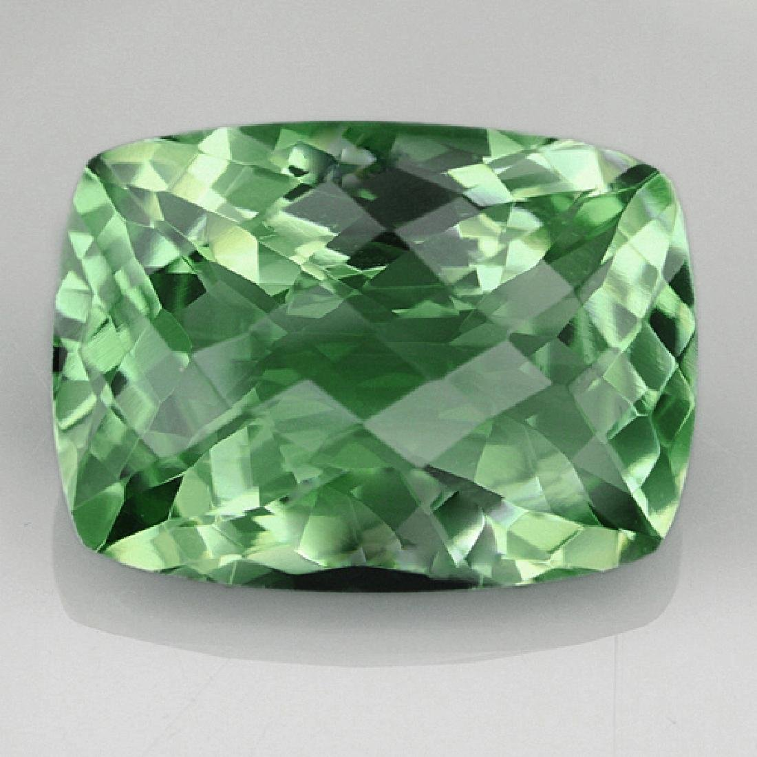 Natural Healing Green Color Amethyst 28.15 Cts - VVS