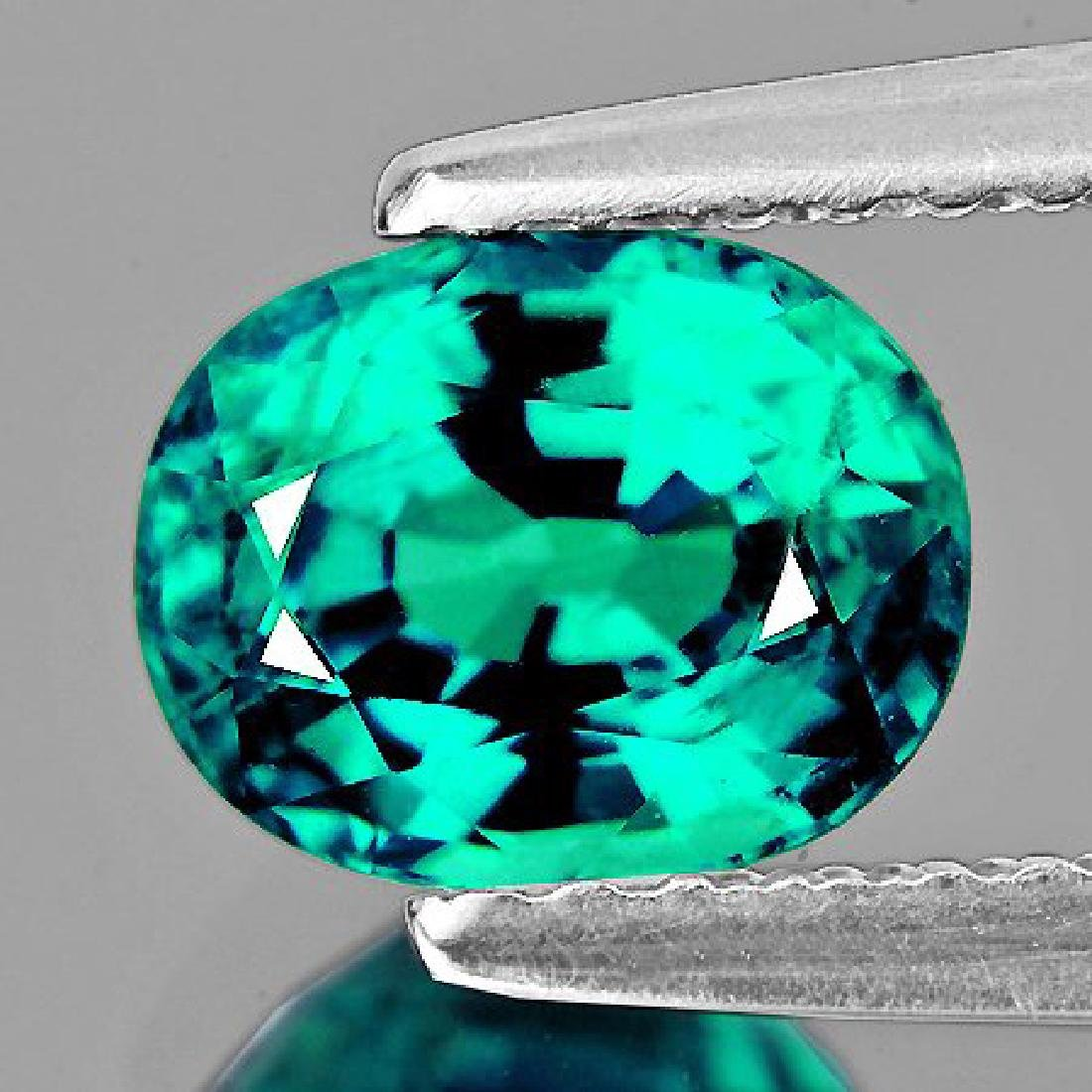 Natural Paraiba Green Blue Apatite (VVS)