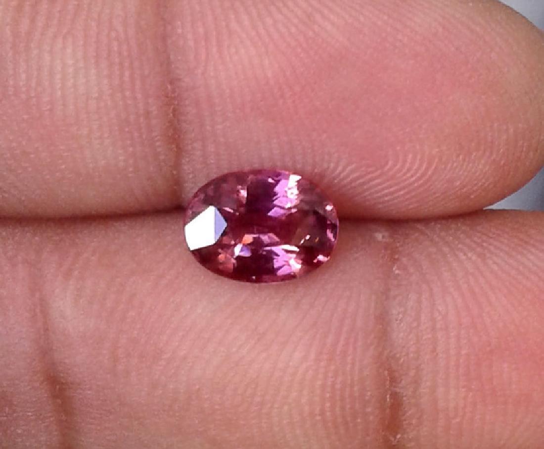 Full Fire Natural Pink Spinel 2.14 carats - VVS