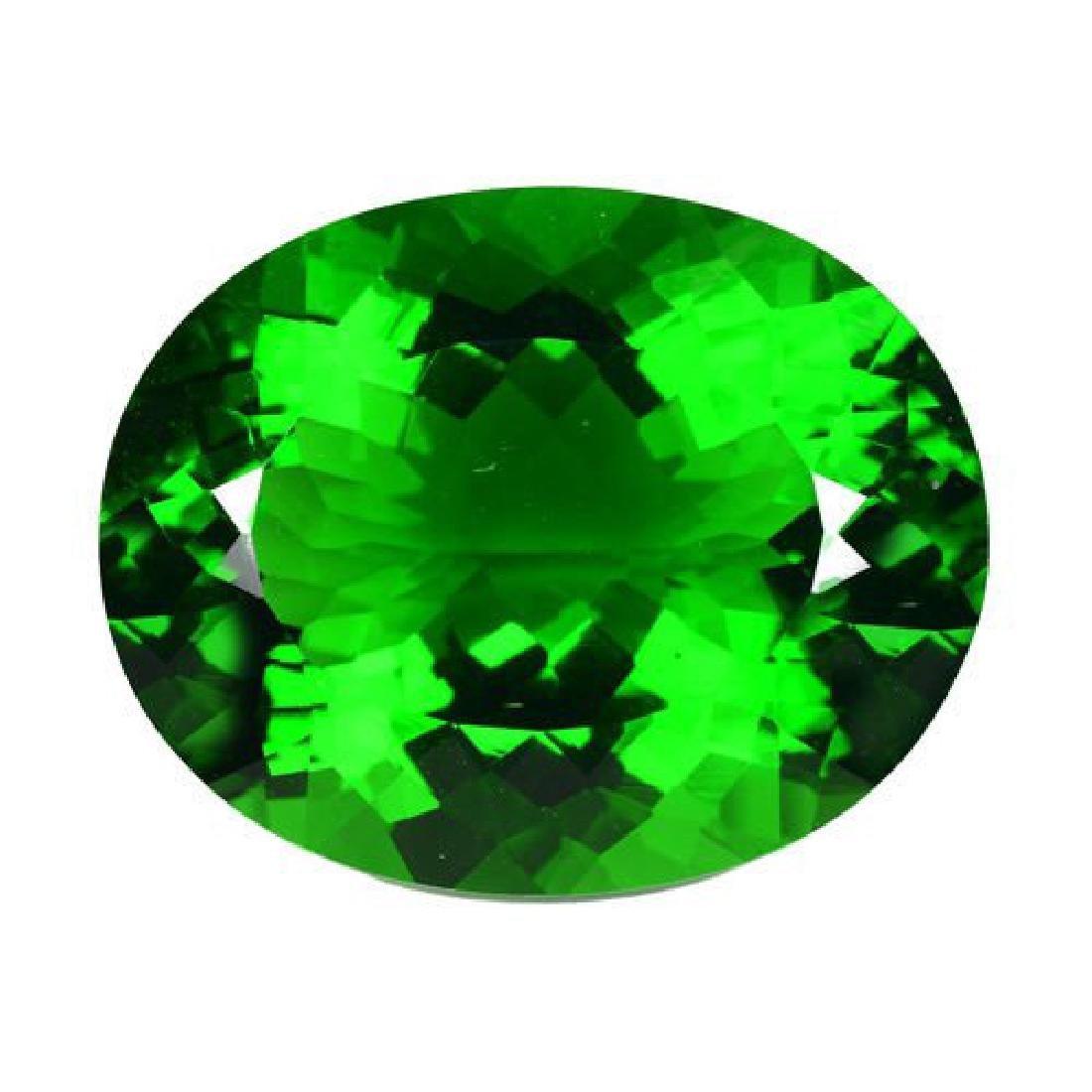 Natural Green Amethyst 53.82 Carats - VVS