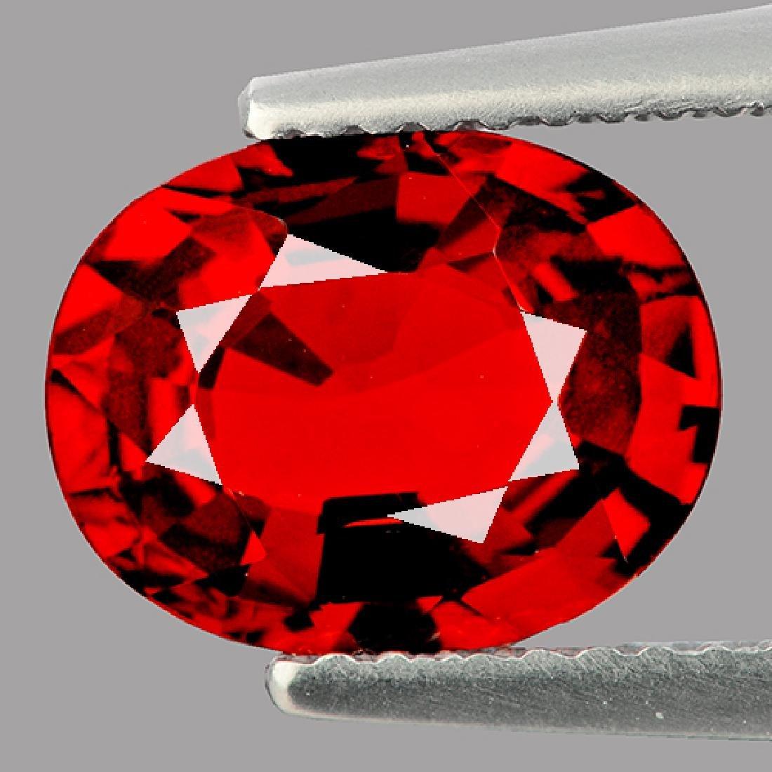 Natural Red Mozambique Garnet 2.80 ct {Flawless-VVS1}