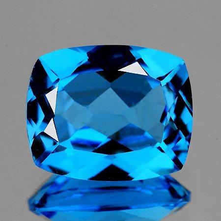 Natural AAA Swiss Blue Topaz  2.23 Ct {Flawless-VVS1}