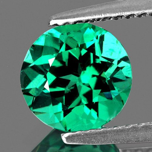 Natural  Paraiba Green Blue Apatite 7.16 mm - VVS