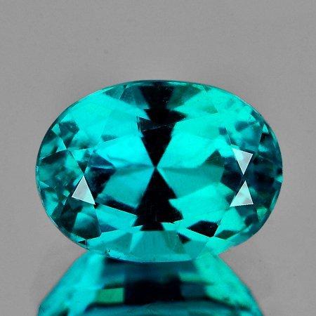 Natural AAA Paraiba Green Blue Apatite 8x6 mm - VVS