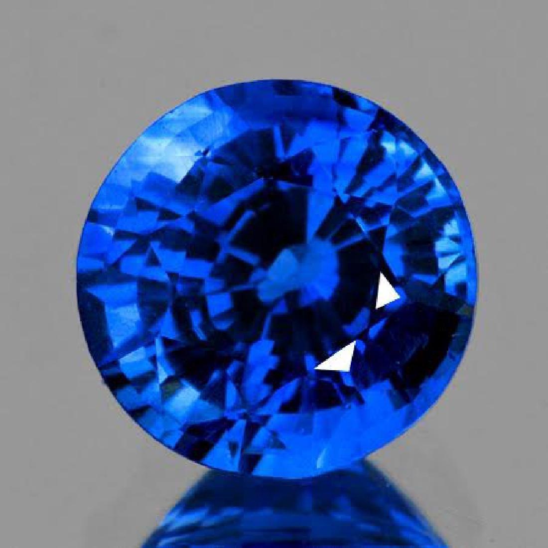 Natural Kashmir Sapphire 1.00 Carats - VVS