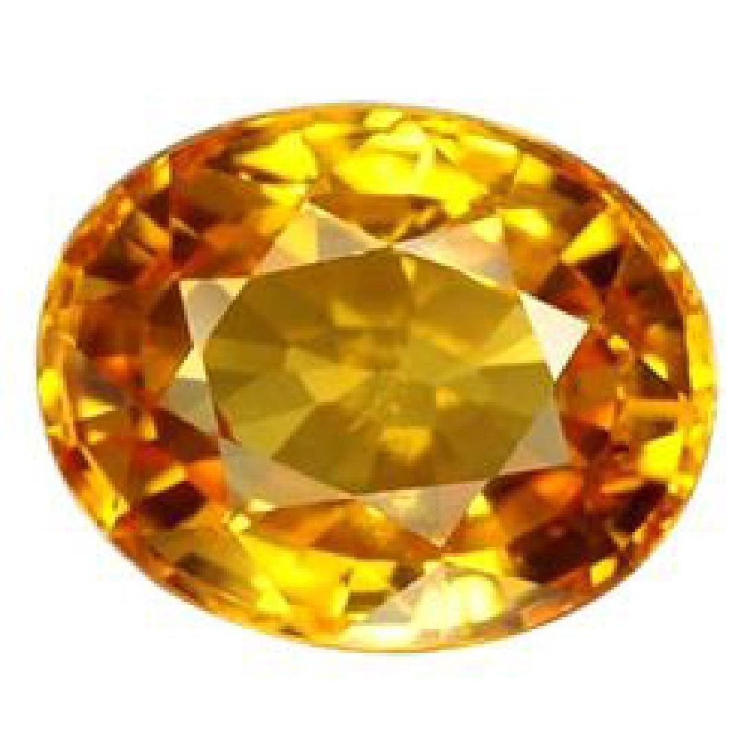 Natural Golden Yellow Sapphire 2.06 Cts - VVS