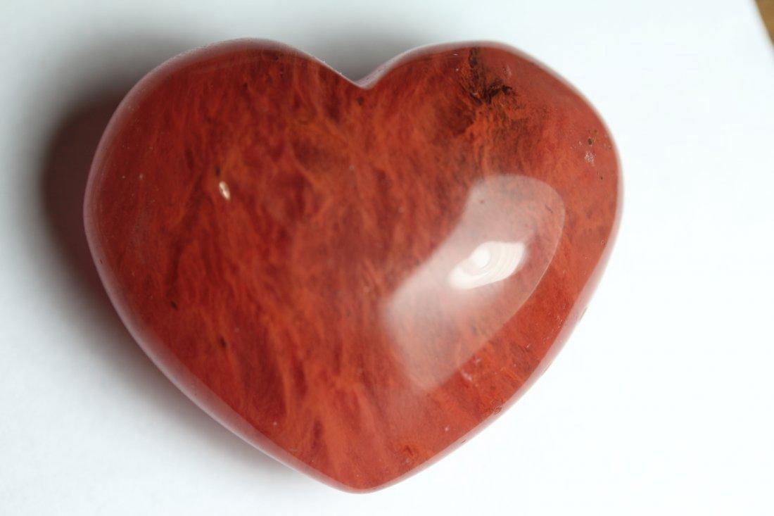Natural Heart Strawberry Quartz 207.85 Carats