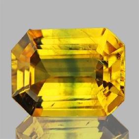 Natural Top Golden Yellow Sapphire 1.32 Cts - Vvs