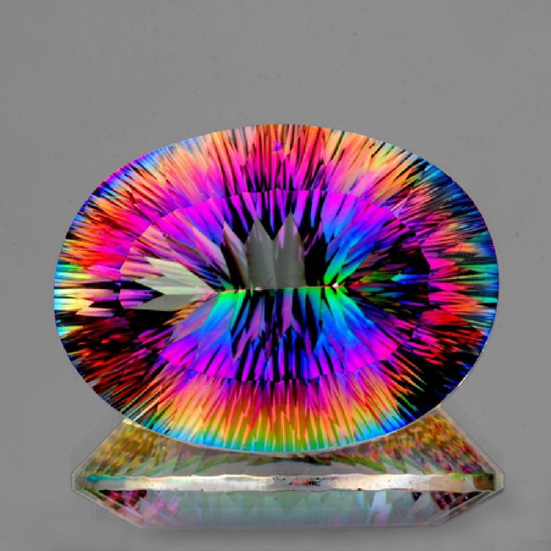 Natural Rainbow Mystic Quartz 27.25 Cts - VVS