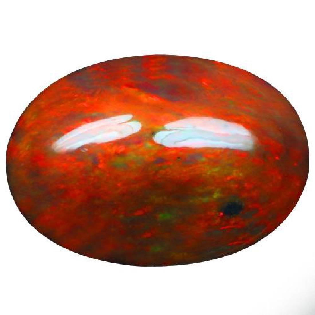 Natural Ethopian Black Opal 8.85 Carats