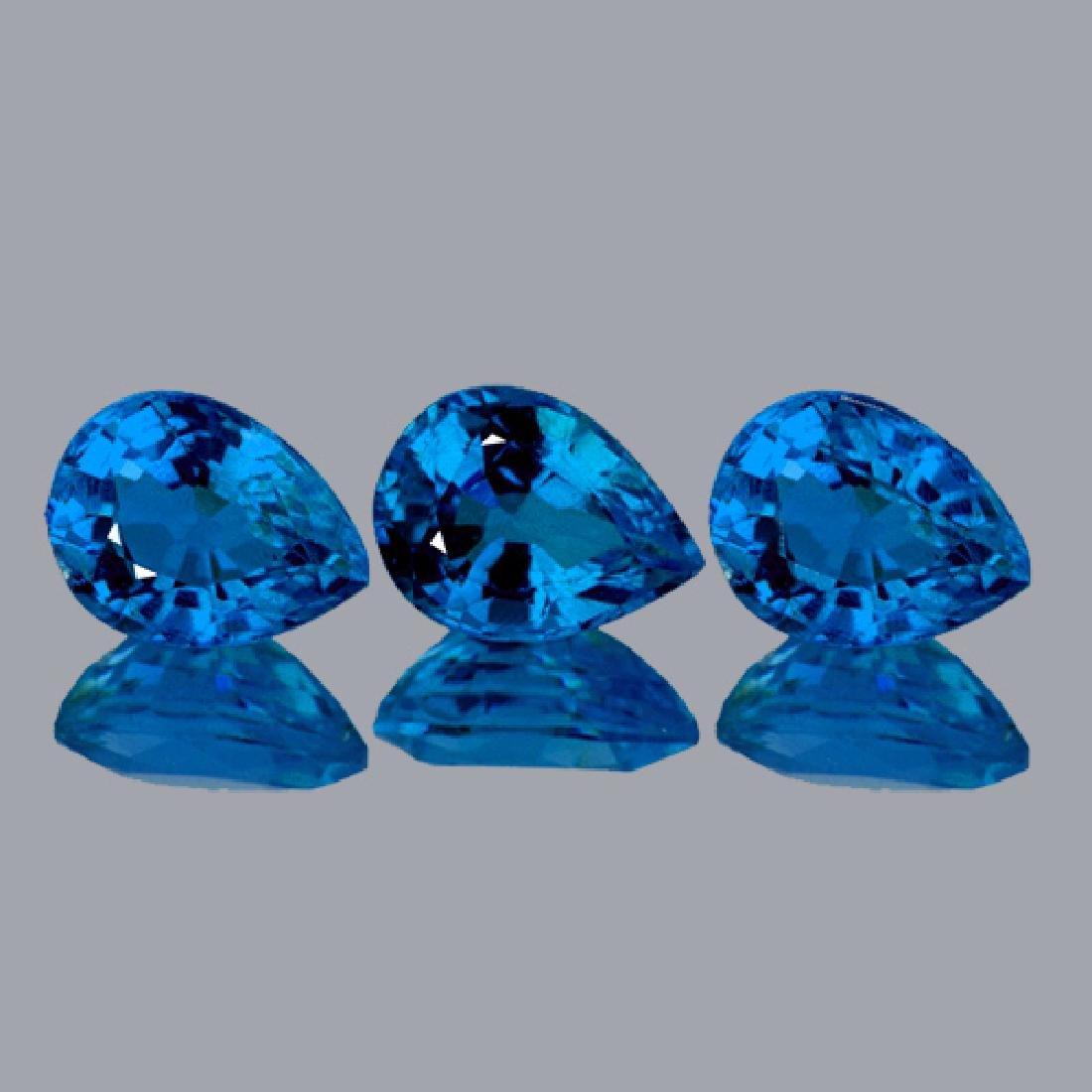 Natural Rare Intense Blue Hauyne 2.5 x 2 MM - VVS