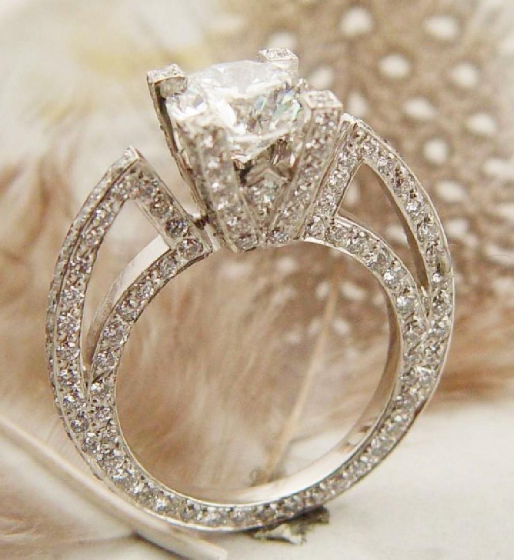 3.10 ct Diamond Ring SI1/I - (Heavy)