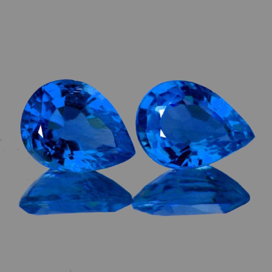 Natural Rare Intense Blue Hauyne 3 x 2 MM - VVS