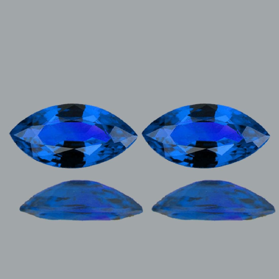 Natural Rare Intense Blue Hauyne 4 x 2 MM - VVS