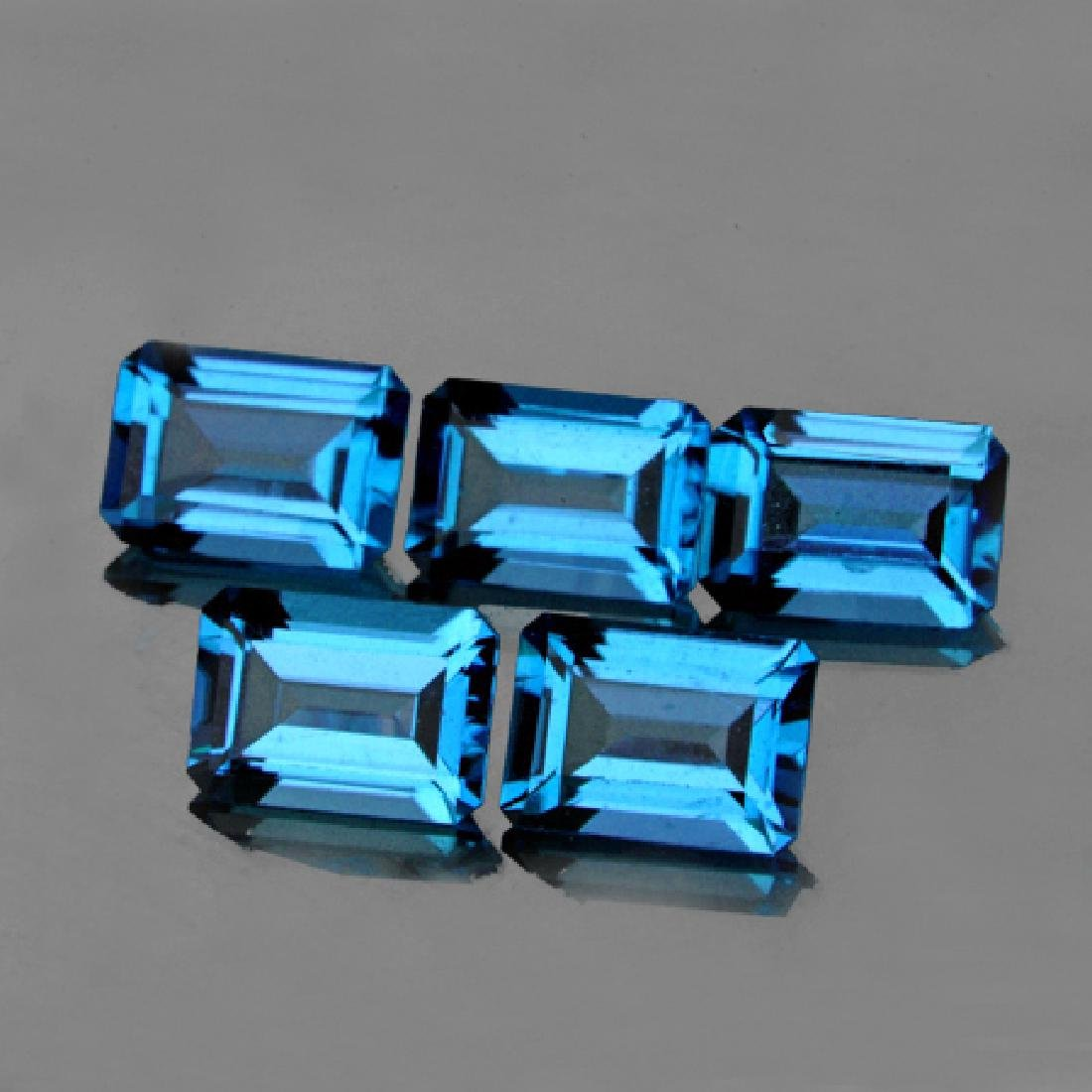 Natural Swiss Topaz 6x4 MM - Flawless
