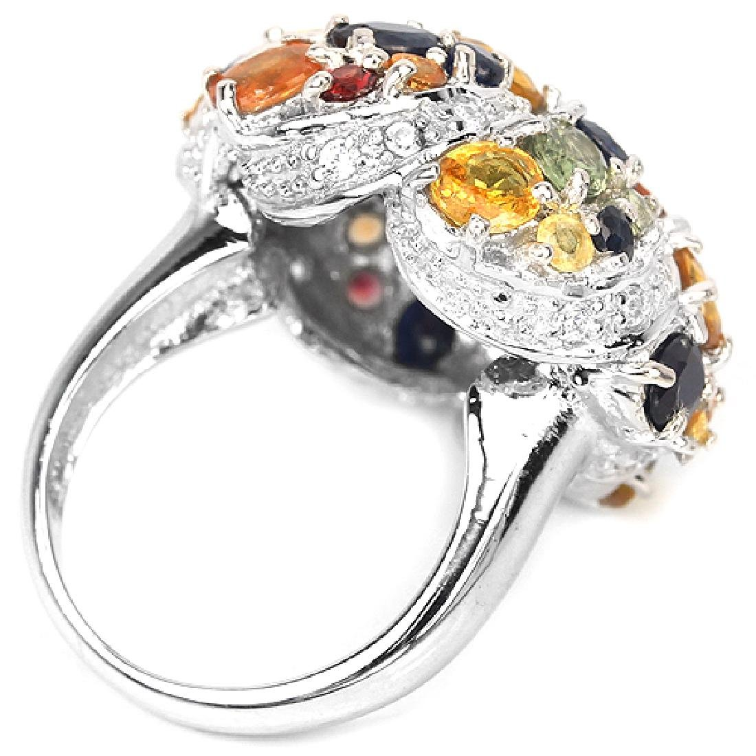 Natural Fancy Sapphire Ring - 2