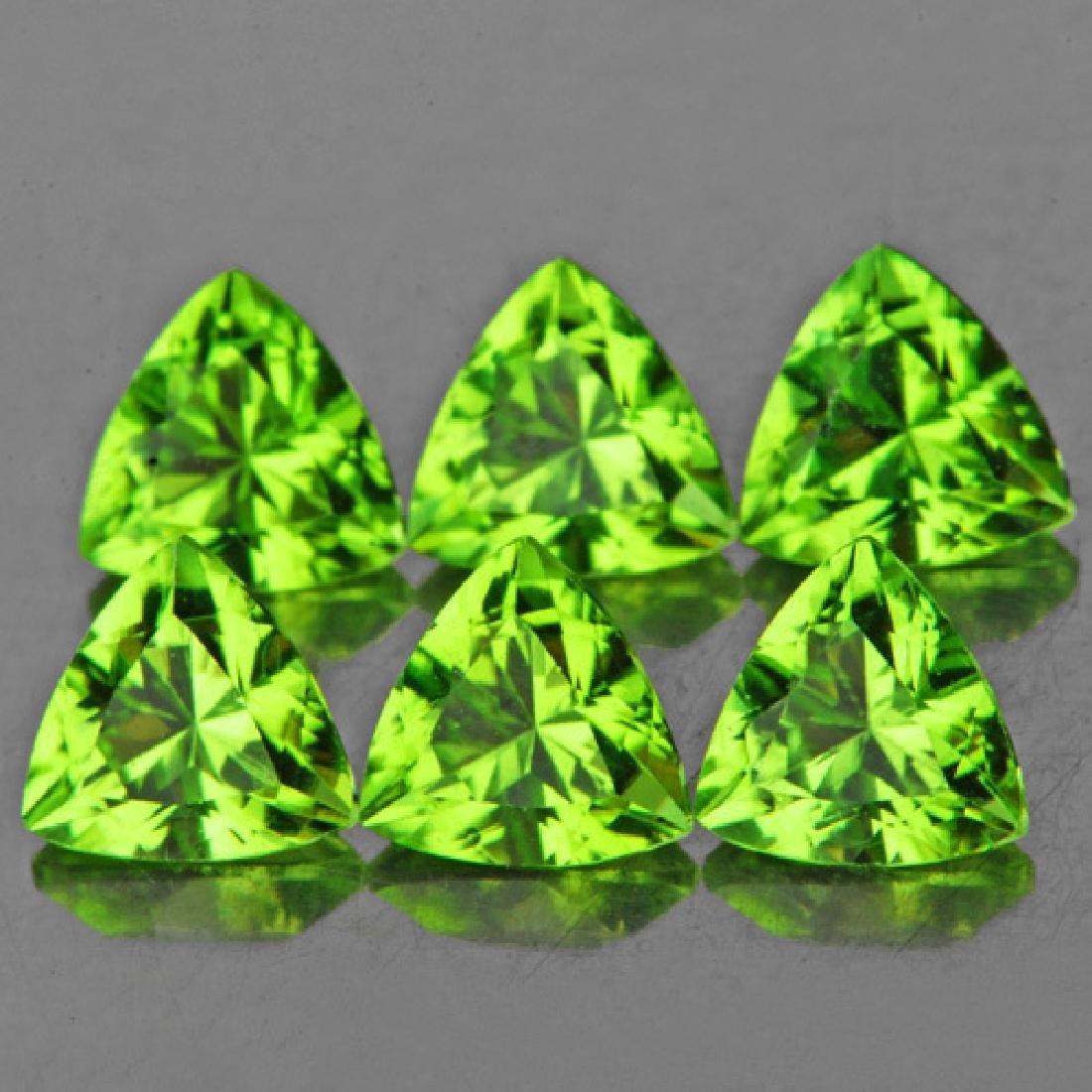 Natural Green Peridot 5.00 MM - VVS