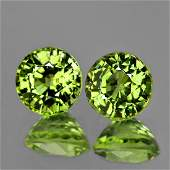 Natural Canary Green Mali Garnet 600 MM  AAA
