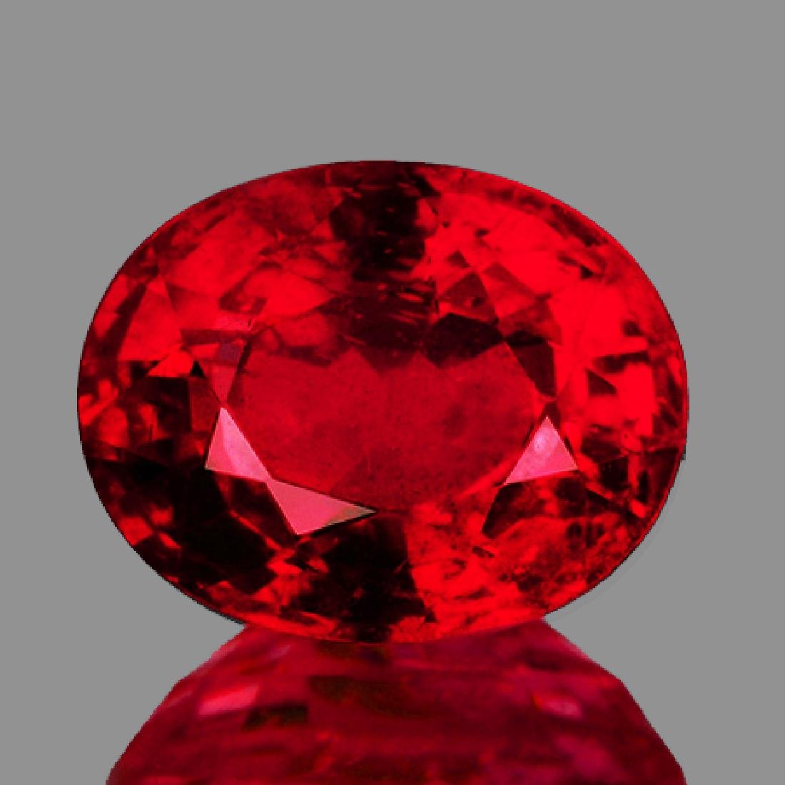 Natural Burma Pigeon Blood Red Spinel 1.23 Ct