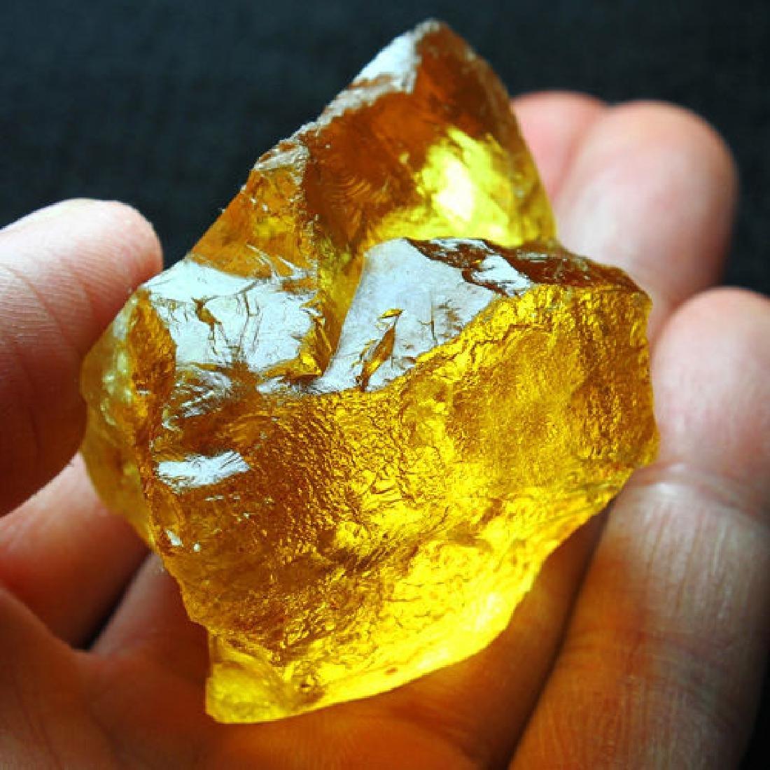 Natural Citrine Gemstone Rough 384 carats