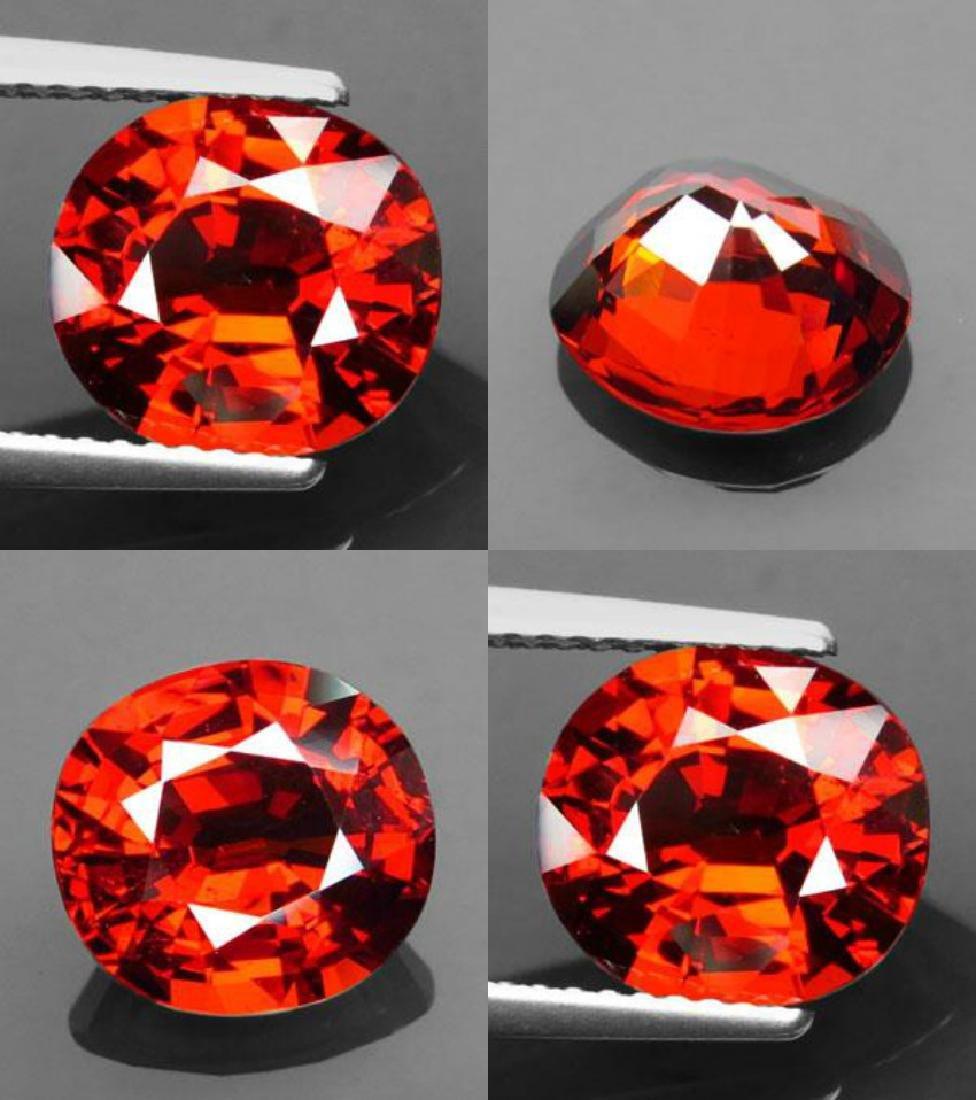 Natural Orange Spessartite Garnet 4.30ct - VVS