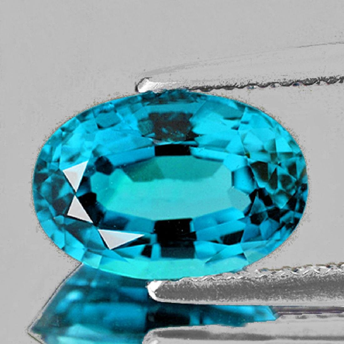 Natural AAA Blue Zircon 2.52 Ct - Flawless