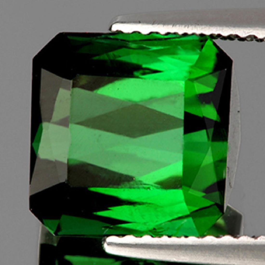 Natural Neon Chrome Green Tourmaline 5.25 ct- Flawless