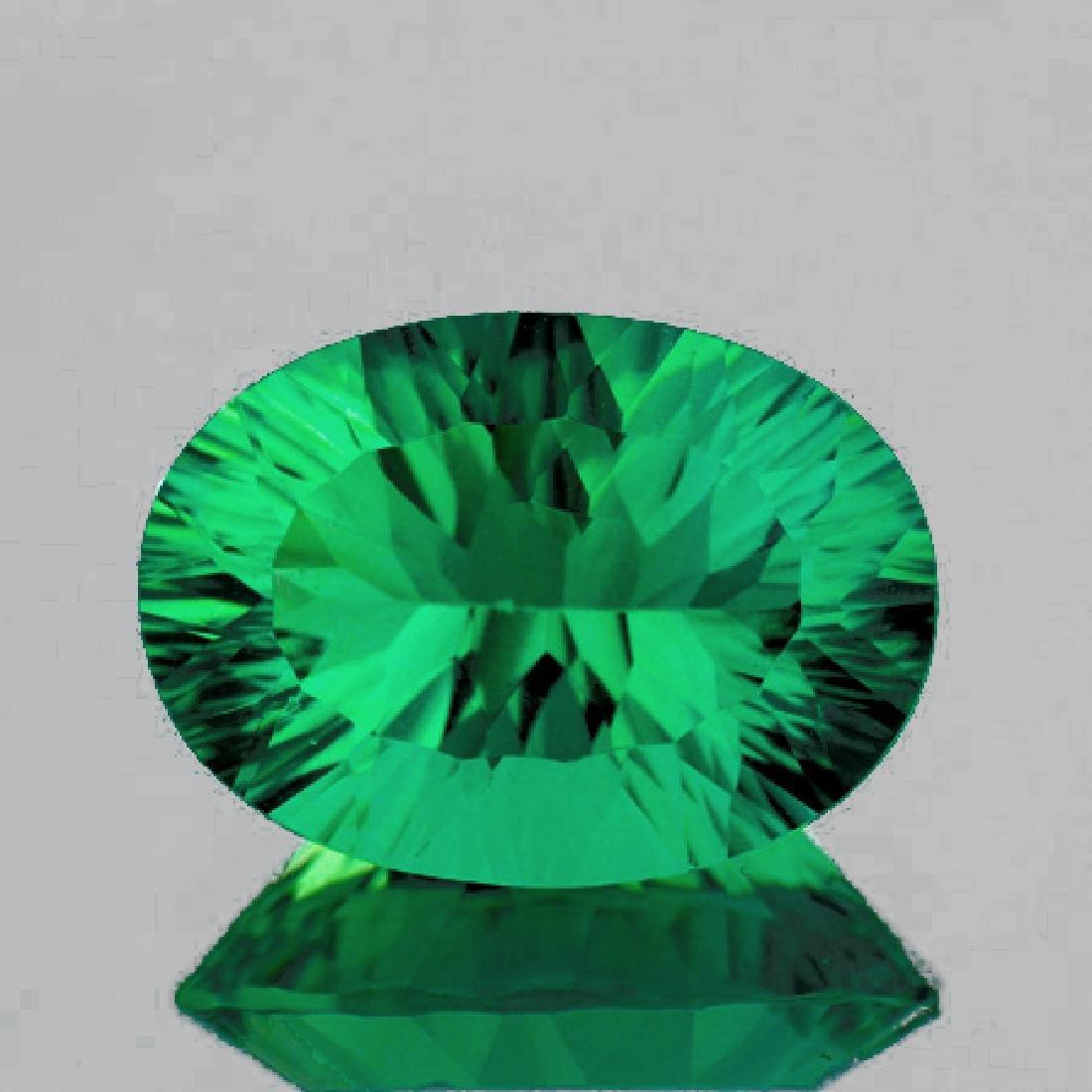 Natural Emerald Green Fluorite 14.93 Ct - FL