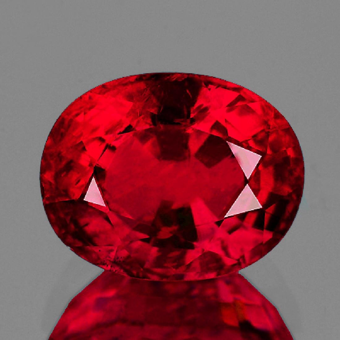 Natural Burma Pigeon Blood Red Spinel 6.5 x 5 MM