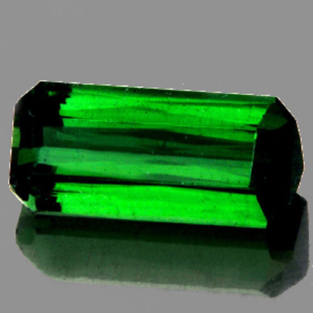 Natural Neon Chrome Green Tourmaline 3.62 ct - VVS