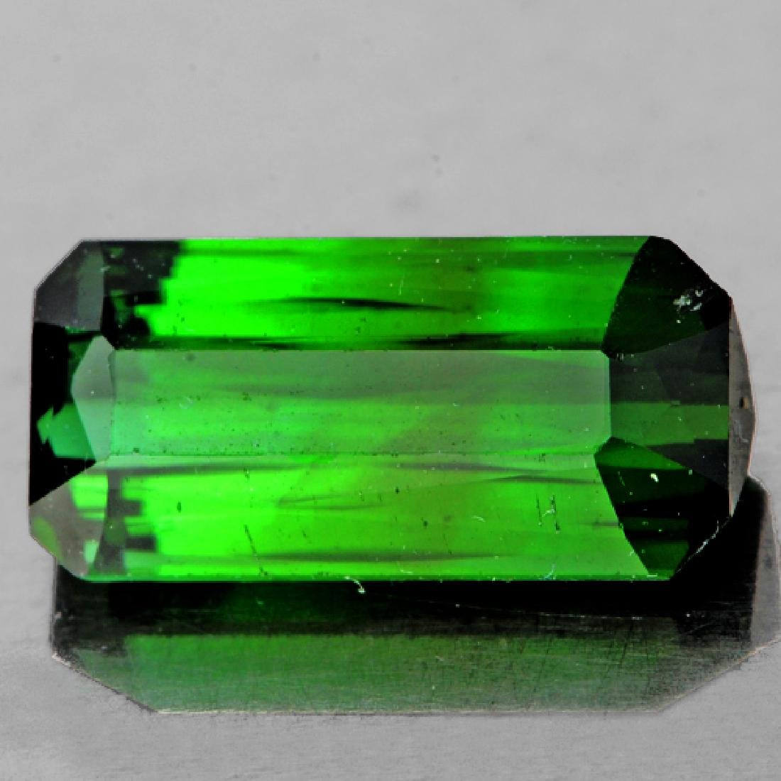 Natural  Chrome Green Tourmaline 10x5 MM