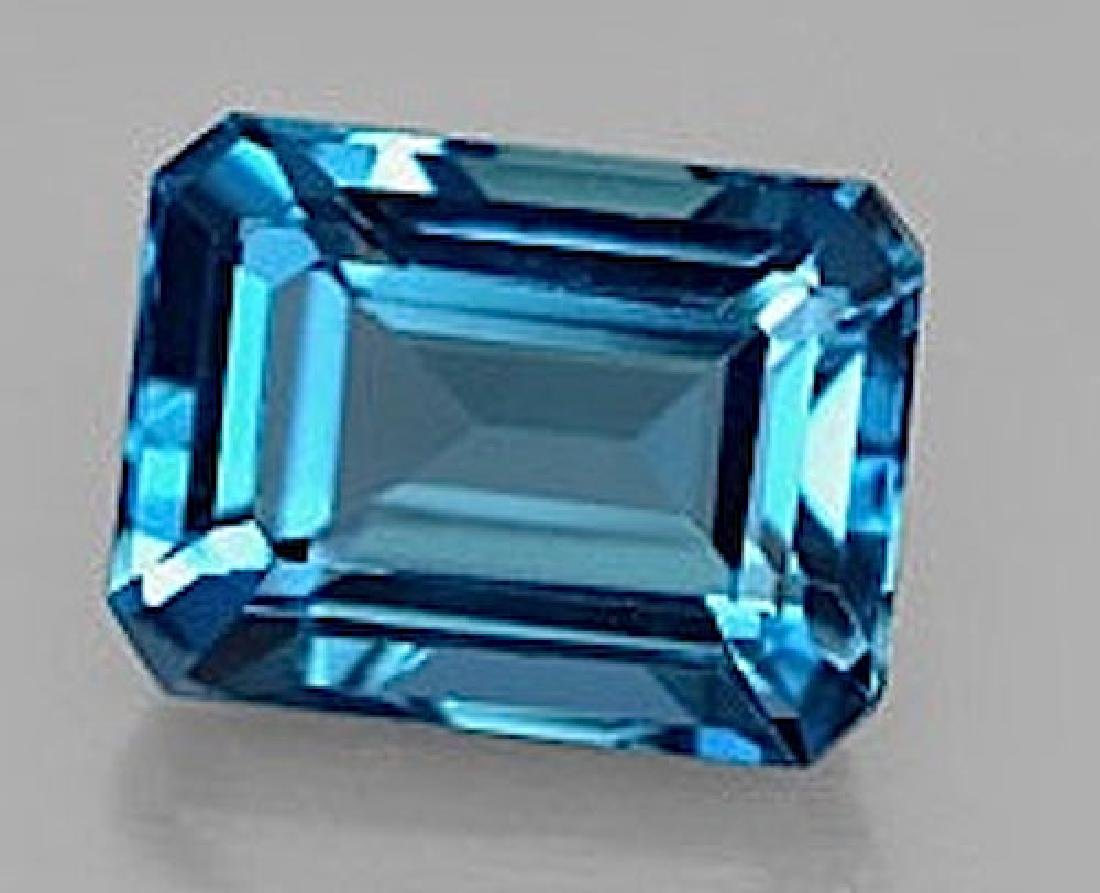 Natural London Blue Topaz 18.25 carats