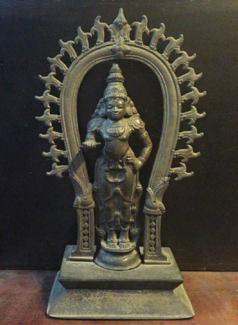Antique Rare Indian Hindu God Statue 10-11th Century