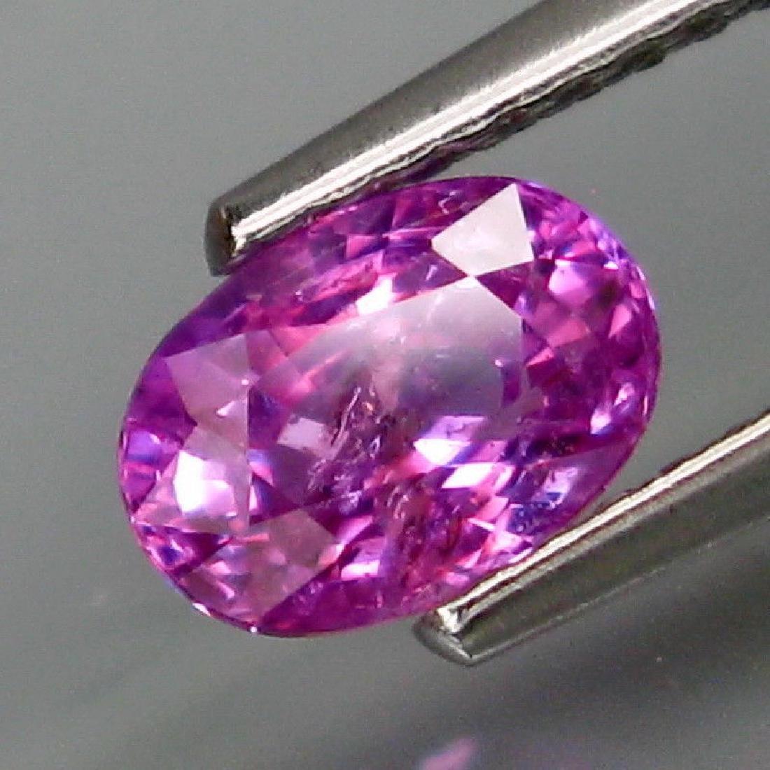 Natural Lavender Sapphire 1.12 Ct