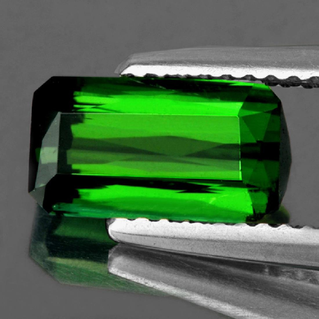 Natural Chrome Green Tourmaline 1.82 Ct