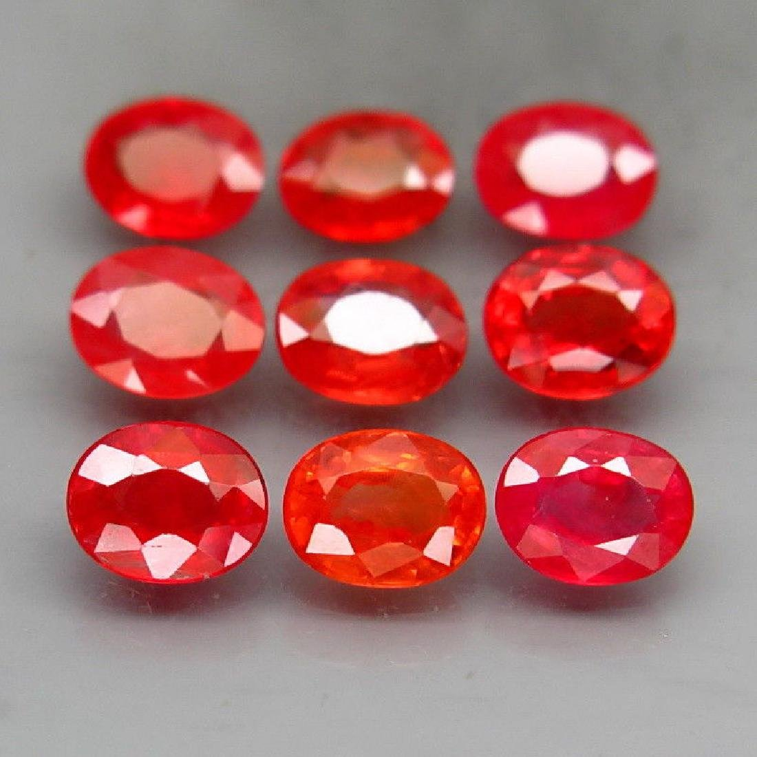 Natural  Red Sapphires  3.72 Carats