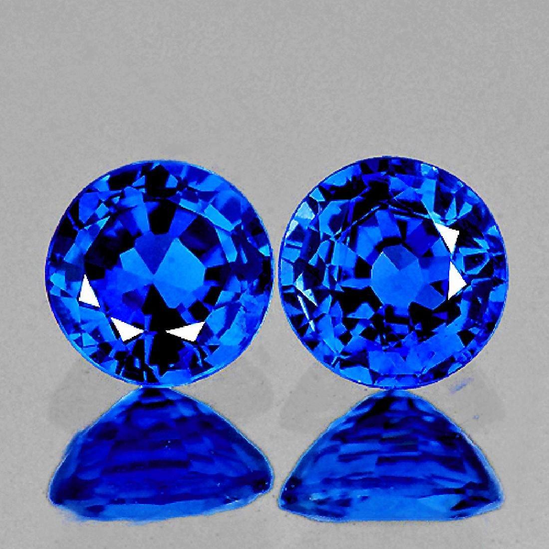 Natural  Premium Royal Blue Kashmir Sapphire  3.70 MM