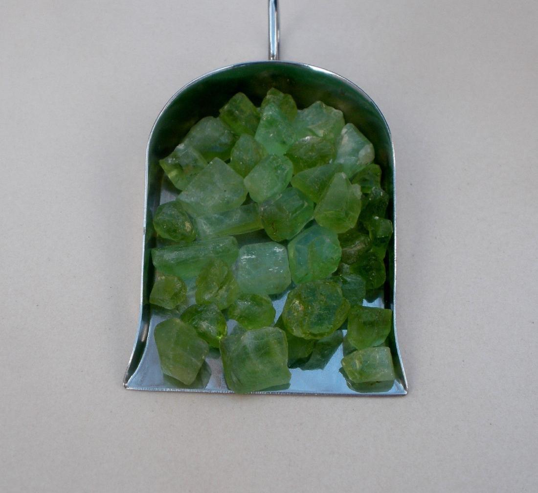 Natural Top Green Peridot Rough 100 Carats - Untreated