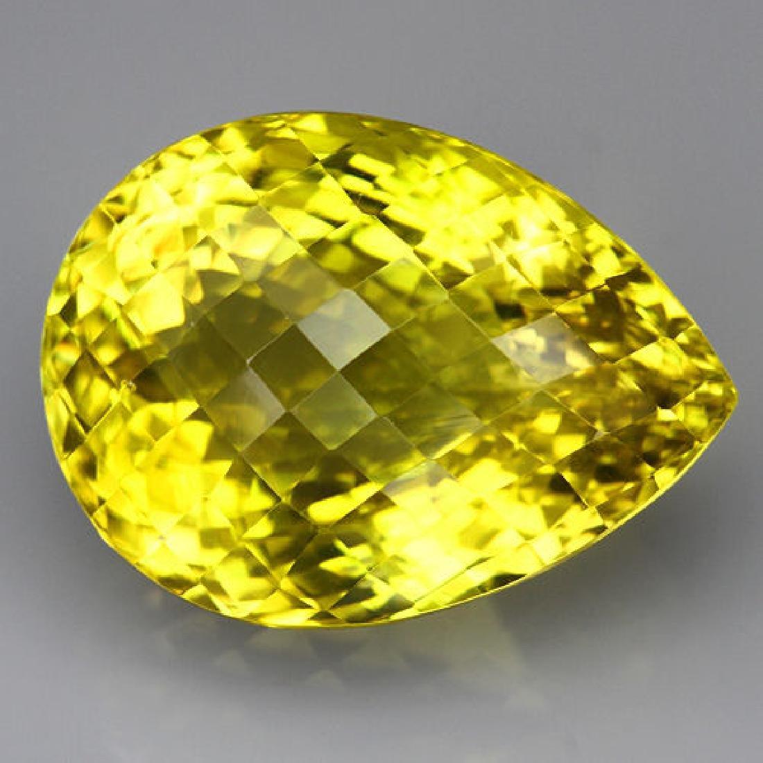 Natural Lemon Citrine Gemstone 63.40 Carats - VVS
