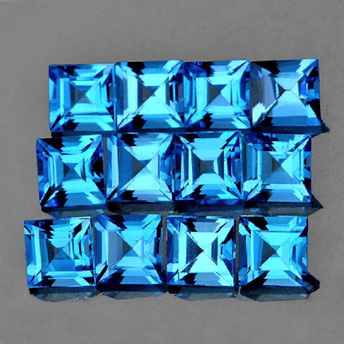 Natural Princess Swiss Blue Topaz Flawless