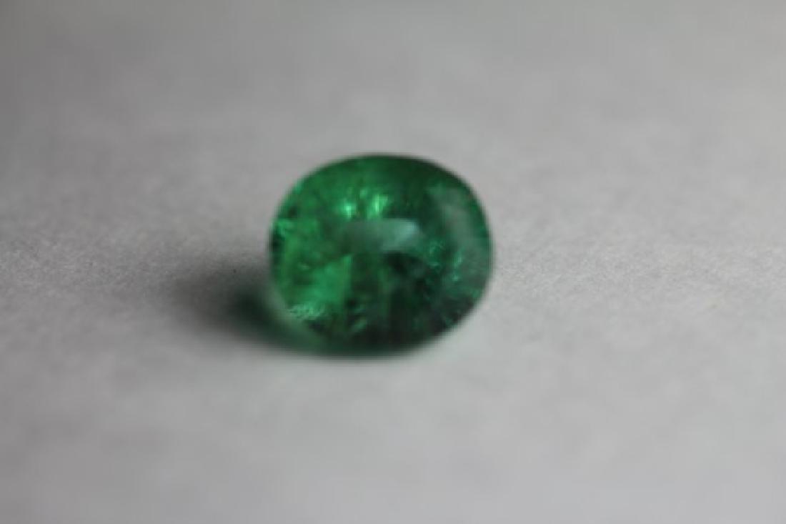 Natural Green Emerald 2.845 Carats - No Treatment